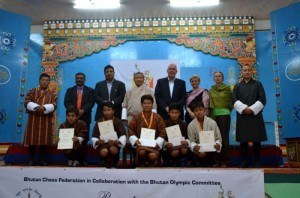 Five Bhutanese men participate at Chess Olympiad 2014 in Norway First Time