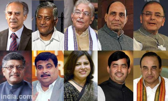Narendra Modi likely to head a 45-member Cabinet