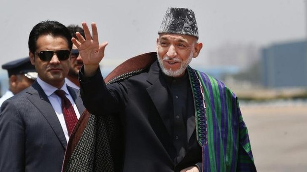 PM-Narendra-Modi-meets-Afghan President Hamid Karzai