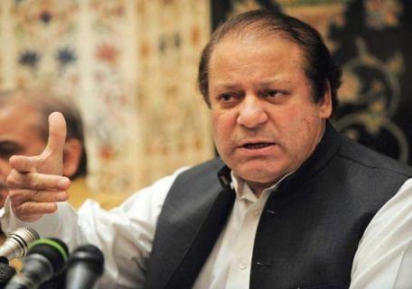 Pakistan-Prime-Minister-Nawaz-Sharif-arrived-in-Delhi