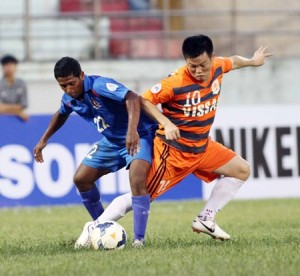 Quyen-successful-in-AFC-Cup-debut
