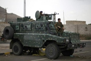 Security in Sana'a on high alert after gunfights