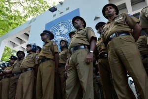 Sri Lanka police have arrested four persons
