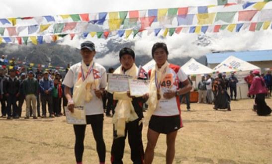 Sudip Rai wins Everest Marathon