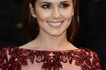 Cheryl Cole elegant at Cannes with a transparent dress