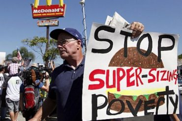 Worldwide Fast Food Strike Planned for May 15