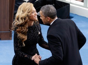 Beyonce and Barack Obama 'affair' over
