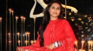 New bride Rani Mukerji glows in red as she makes first post-marriage appearance