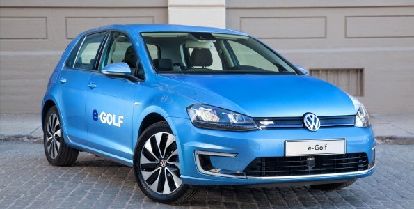 "Volkswagen launches the battery-electric e-Golf in Germany; ""Das e-Auto"""
