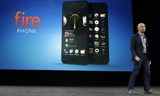 Fire Phone Immerses Users in Amazon's World