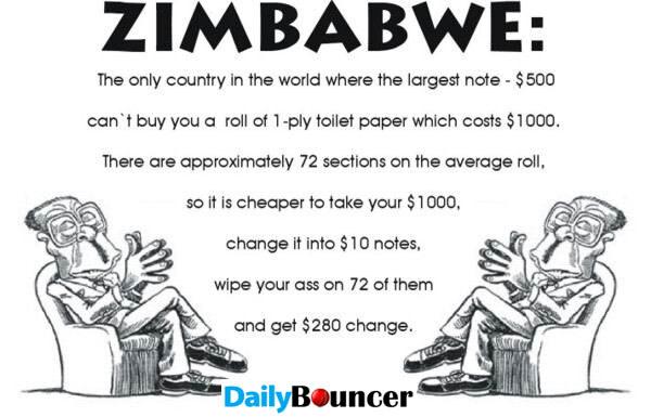 no jokes on Zimbabwe pls.