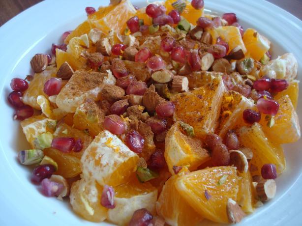 Cinnamon Oranges african racipe