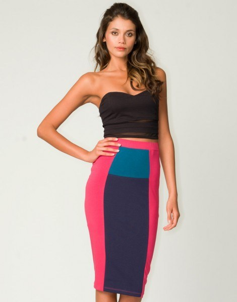 Flaunt your curves make a statement in tube skirts