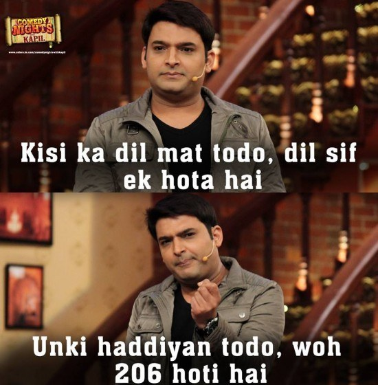 Kapil ka golden advice