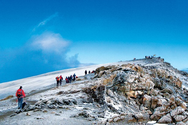 Mount Kilimanjaro offers unique ecology and adventure