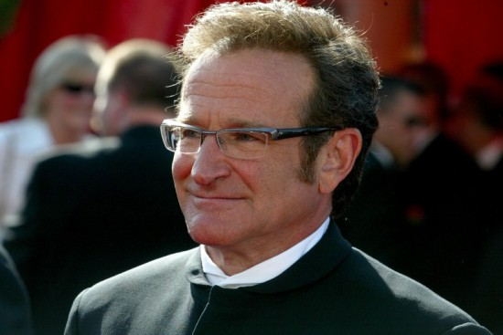 Robin Williams attends Emmys