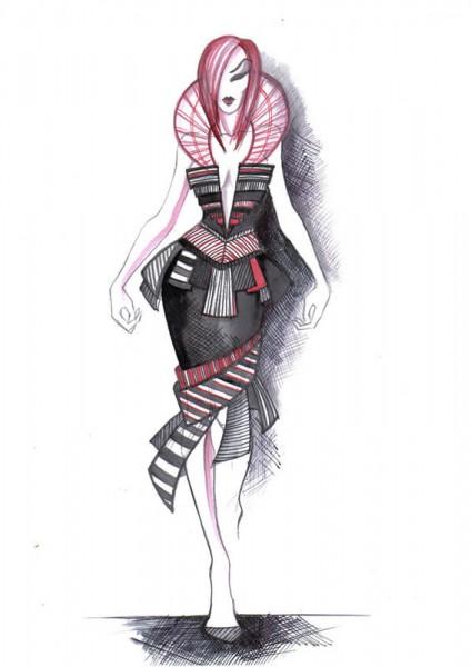 Fashion sketches 1