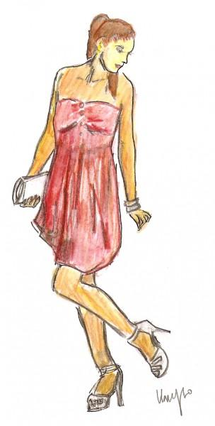 Fashion sketches 4