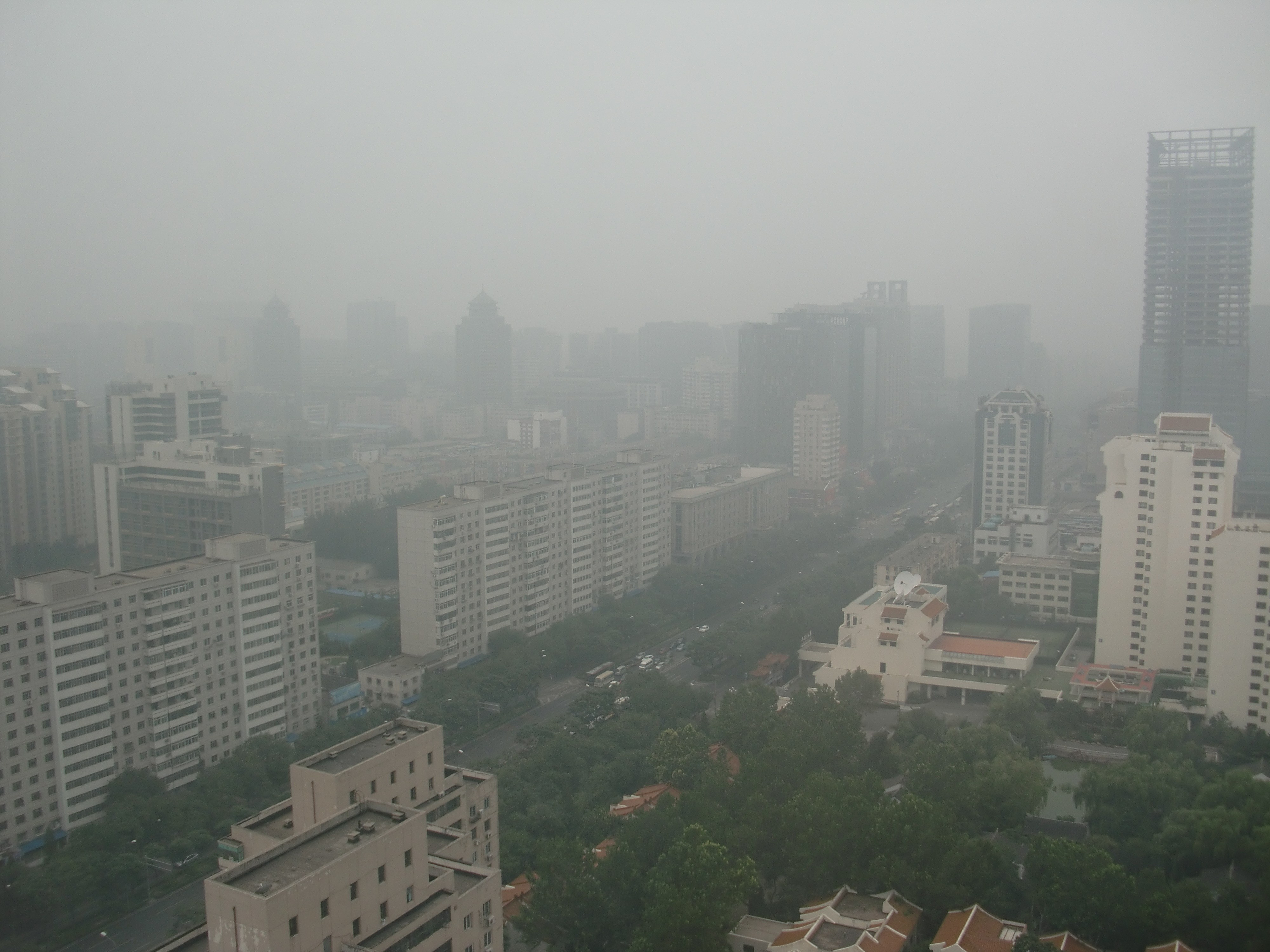 In China, Pollution Worsens Despite New Efforts