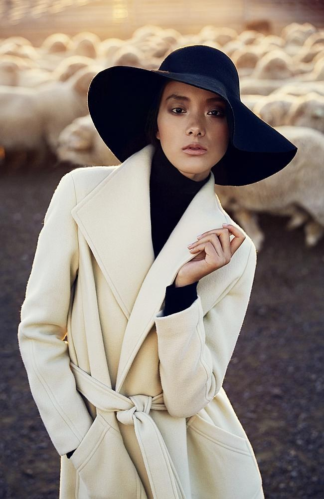 Wool has taken centre stage in a special edition of Vogue in China