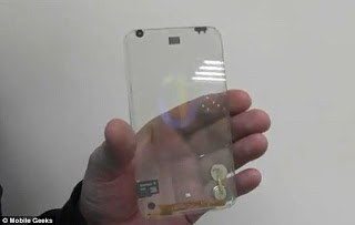 Transparent cell phone 'will happen near the end of 2013' promises tech company