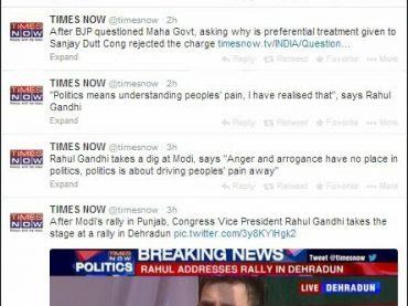 Congress vs BJP vs AAP : How Media is Biased ?