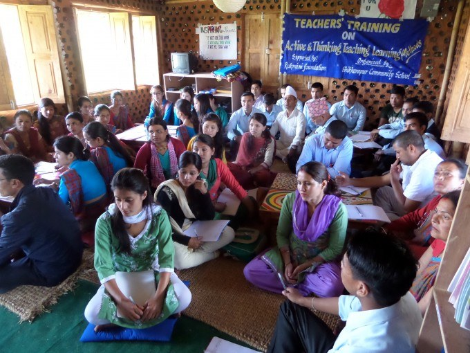 Striving to improve the quality of education in rural Nepal through continuous learning for teachers