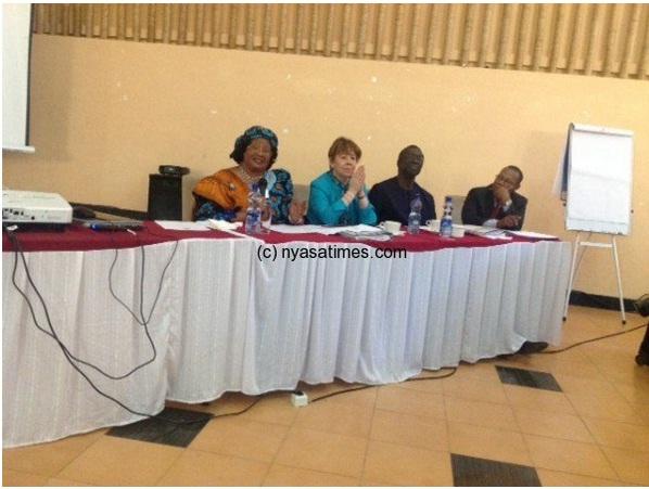 Joyce Banda addresses UNDP Africa Retreat in Ethiopia
