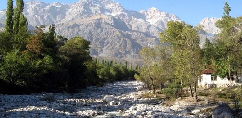 Arslanbob is unique creation of the nature
