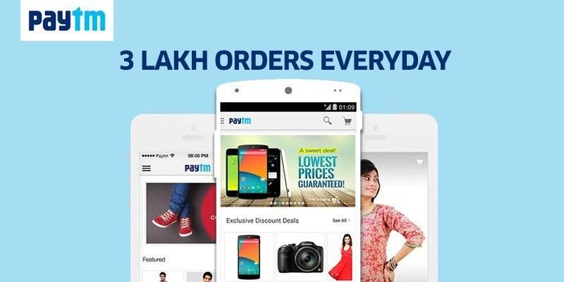 Paytm Adds Mobile Commerce on zero commission marketplace