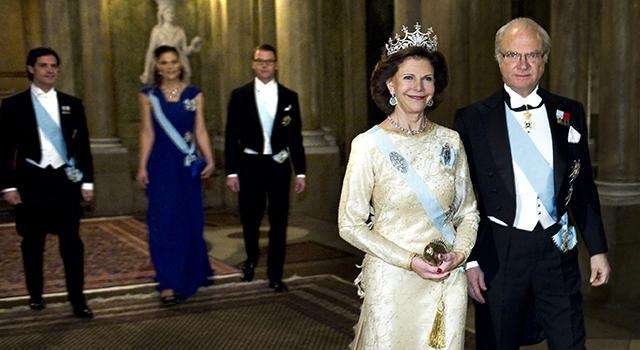 The King carl gustaf and Queen silvia host visit Dalarna County