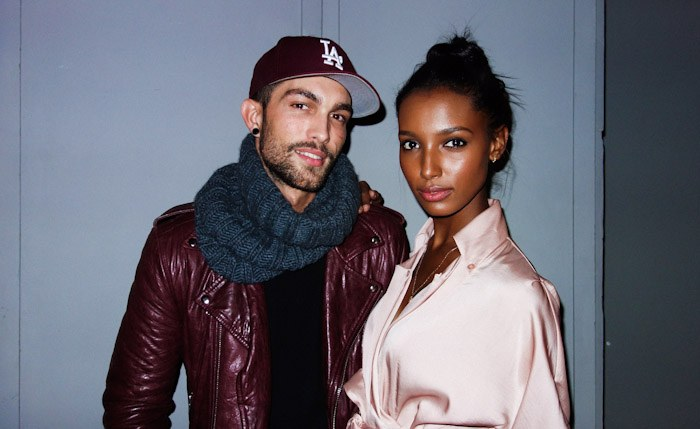 MODEL COUPLE JASMINE TOOKES & TOBIAS SORENSEN LAND CK FRAGRANCE AD
