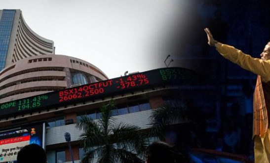 End Narendra Modi Bubble for foreign investors Worst performing market