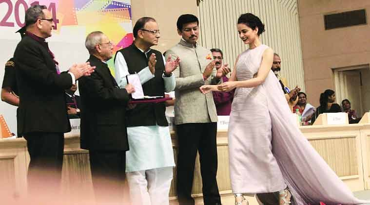 Queen of cinema-Kangana Ranaut wins Best Actress National Award for her role as a simple Delhi girl