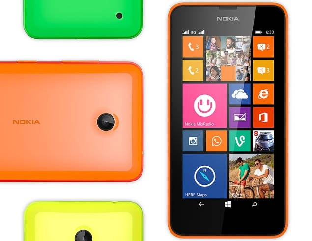 Under Top Smartphone Nokia Lumia 630 (Single SIM) Smartphones Street Price