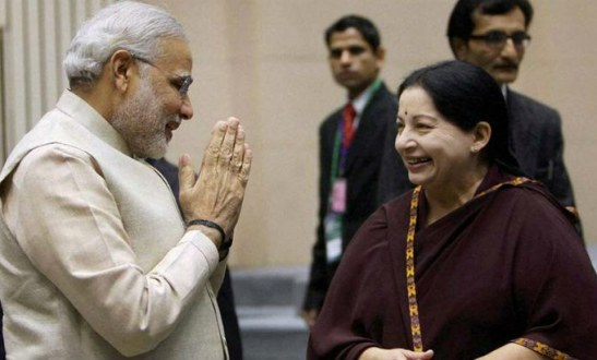 Decoding BJP govts Parl strategy PM Modi cozies up to Jaya after acquittal