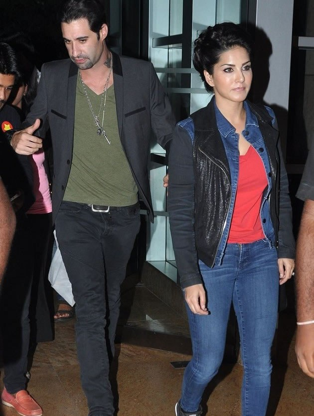 Sunny Leone Daniel Weber has Been Thrown Thrown Out Of Her Mumbai House