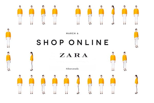 Fashion news-Zara launches online shopping in Canada