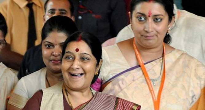AAP-hold-protest-march-demanding-resignation-of-Sushma-Swaraj-Vasundhara-Raje-and-Smriti-Irani