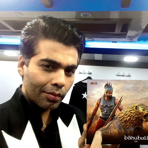 Baahubali-The Beginning trailer launches by Karan Johar