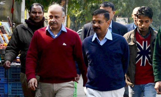 Kejriwal country hope sisodia with us