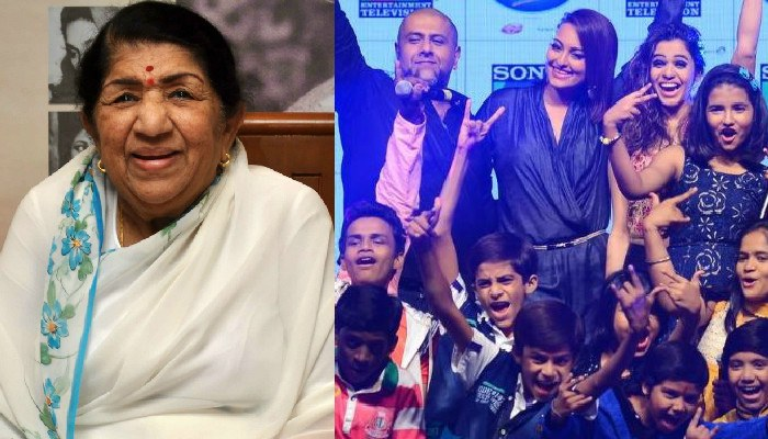 Lata Mangeshkar roots for young talent at Indian Idol Junior