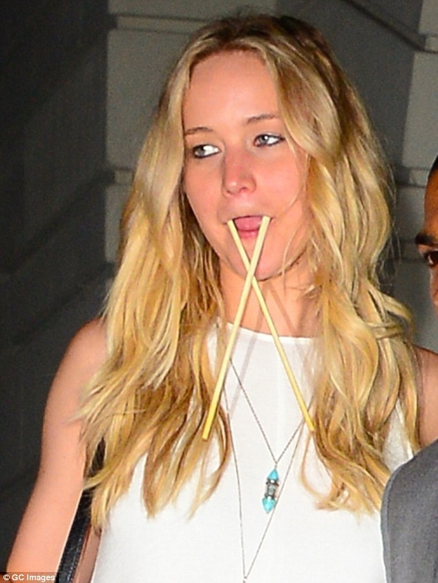 Oscar winning actress Jennifer Lawrence steps out with hilarious face again in NYC
