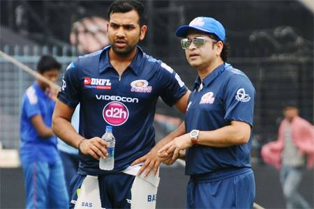 Sachin-Tendulkar-Rohit-Sharma-grown-as-captain