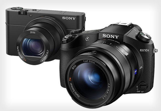 Sony Launches RX100 IV And RX10 II Cameras Offer with 4K video capability