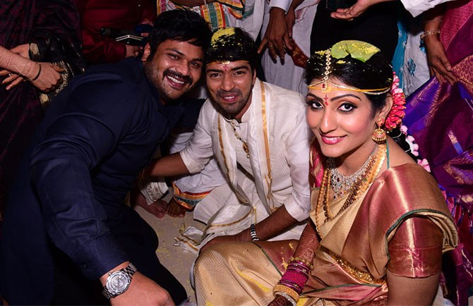 Telugu comedy king Allari Naresh Virupa marriage