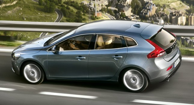 Volvo V40 Hatchback Set Scraped Out in India