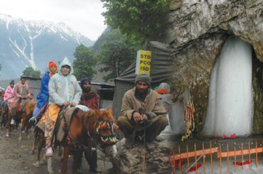 Amarnath Yatra stopped from Jammu due to bad weather