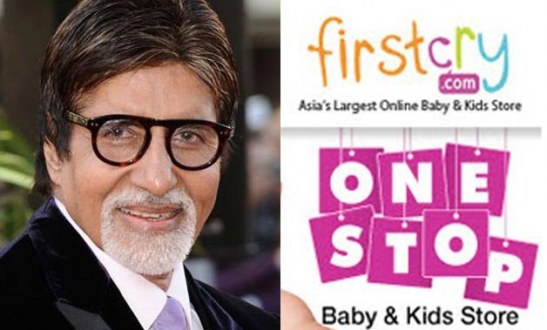 Amitabh Bachchan Big B to promote FirstCry online childrens store
