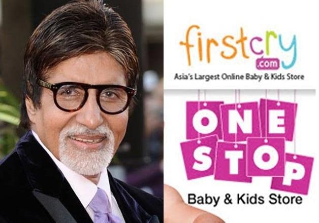 Amitabh Bachchan Big B to promote FirstCry online childrens store